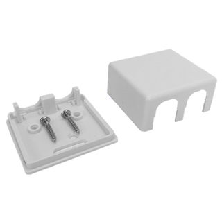 DATAMASTER, RJ12/45 'Mode 3' Surface mount box, Two gang,