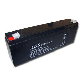 BATTERY, 12 Volt 2.3 AH sealed lead acid, Dimensions (not inc. terminals) 177(W)mm x 34(D)mm x 61(H)mm,