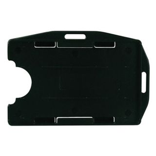 NETDIGITAL, Dual format deluxe card holder, Black,