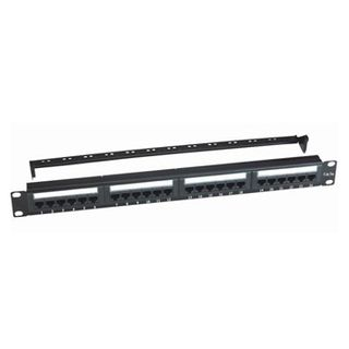 PSS, UTP Cat.5e Patch Panel,24 Port,LSA IDC,With Back Bar,