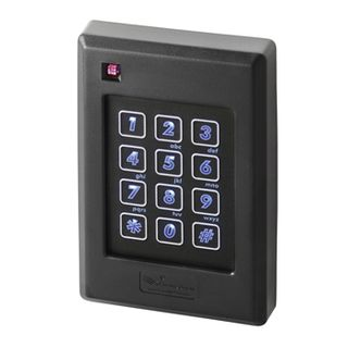 """KERI, NXT series, Proximity Reader and Keypad, Switch plate style, Up to 6"""" (152mm) read range, Built in buzzer, 3 colour LED, 26 Bit Keypad data, Lifetime warranty, 5-14V DC 115mA,"""