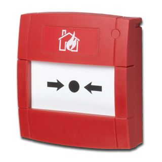 "KAC, Break glass unit, RED, Unit reads ""Fire Alarm"", Surface mount, Anti tamper facility, N/O or N/C contact, IP24D, 30VDC, 2A max,"