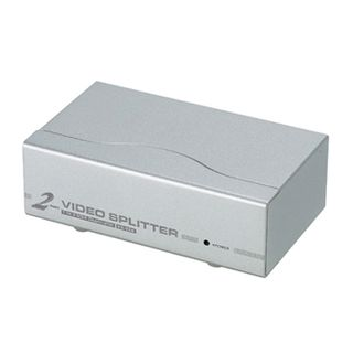 ATEN, 2 port VGA splitter, 350Mhz, 1920 x 1440 @ 60mhz up to 65mt,