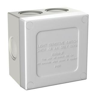 CABAC, Sunset switch, Weatherproof IP56, 3 operational modes, 240V AC,