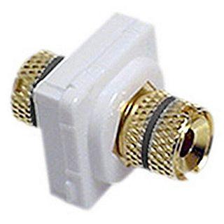 DATAMASTER, Speaker mech, Black, Speaker Terminal/Banana socket front and rear, White mech, Suit Datamaster & Clipsal Plate,