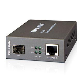 TP LINK, LC fiber Converter, SFP slot supporting MiniGBIC modules,