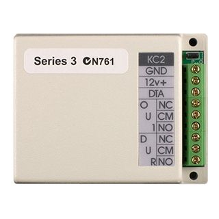 NIDAC (Presco), Dual output Decoder (125 Users), Up to 10 encoders can be connected to one decoder, 2x 5 amp relay contacts, 4 units can be connected to one DataLogger,
