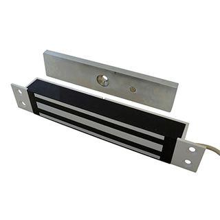 GEM, Electromagnetic lock, Sliding door, Flush mount, Monitored, 272kg holding force, Small size, 230(L) x 38(H) x 27(D)mm, 12VDC/24VDC, 500/250mA,