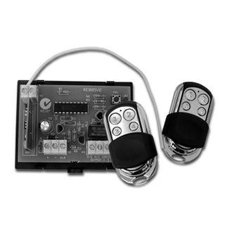 BOSCH, Solution Series, Wireless receiver, 433 MHz, 2 HCT4 4 button transmitters,