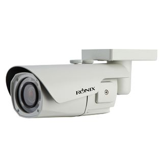 "RONIX, HD-IP bullet camera, IR, WDR, 2.3MP/Full HD 1080p 1/2.9"" CMOS, 3X (3.0 - 9.0mm) megapixel AF AI zoom lens, Day/Night (ICR), 0.0008Lux (sens-up), IP68, Sunshield, Tri axis, 12V DC/24V AC, POE"