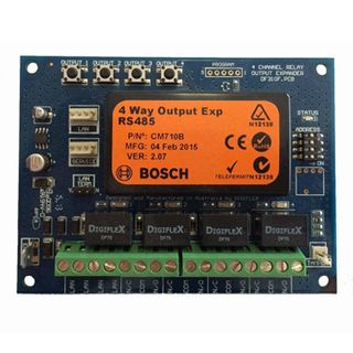 BOSCH, Solution 6000, Output module, 4 way relay, Suits Solution 6000 panel,
