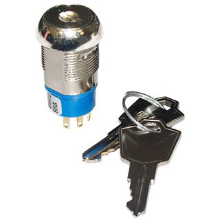 NETDIGITAL, Key switch, Spring Return, Keyed different, Change over contacts,