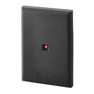 """KERI, Delta series, Mifare proximity reader, 13.56 MHz, Switch plate style, Up to 3"""" (76mm) read range, Ultra-thin profile, Built in buzzer, 3 colour LED, Lifetime warranty, 5-14V DC 135mA,"""