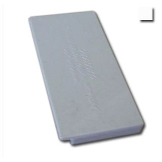 AUSSIEDUCT, 100 x 50mm, End cap, White,