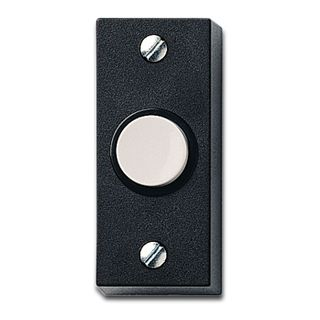 FRIEDLAND, Push button, Black, Weather resistant, 55(H) x 24(W) x 18(D)mm,