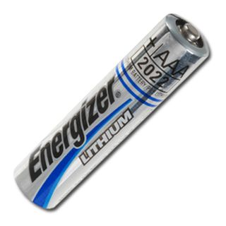 BATTERY, Energizer AAA size lithium,