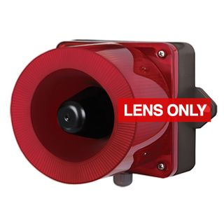 QLIGHT, QWCD RED lens only to suit combination unit, replacement lens