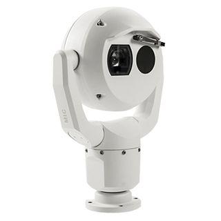 BOSCH, MIC IP Fusion 9000, Network vandal PTZ thermal camera, QVGA 19mm, 2MP, 30x zoom, 9Hz, White,