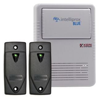 KERI, Intelliprox NXT BLUE series, Access control kit,  1 x door bluetooth controller, 2 x Reader, PSC-35, NXT-3R reader, NXT-C & NXT-AP, Both with enclosures, 12V DC (9-15V DC),