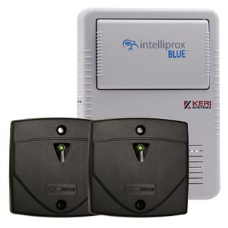 KERI, Intelliprox NXT BLUE series, Access control kit, 1 x door bluetooth controller, 2 x Reader,  PSC-35, NXT-5R reader, NXT-C & NXT-AP, Both with enclosures, 12V DC (9-15V DC),