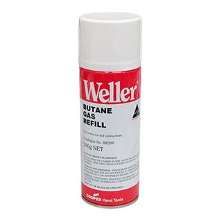 WELLER Butane gas refill, 200gm for use with Weller gas irons,
