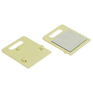 TELEMASTER, Telephone socket accessory, Self adhesive backing plate, Suits 610 and 611 telephone sockets, Eliminates the need for screws, Mounts to any flat clean surface, Ivory,