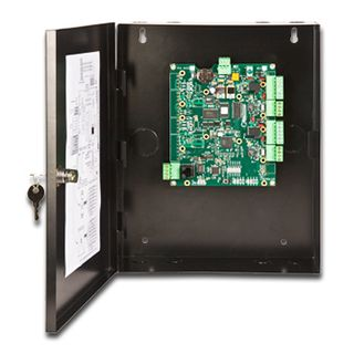 KERI, NXT series, Network proximity controller, Keri NXT format, 2 door capable, Connects to TCP/IP network, Uses RS485 secure readers, Up to 50000 users, 10000 event buffer, 10-14V DC 570mA,