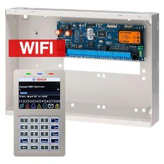 BOSCH, Solution 6000, Alarm kit, Includes CC600PB panel, CP741B WIFI LCD keypad & MW350 cabinet,