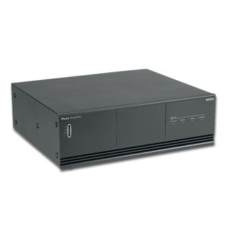 BOSCH, Plena power amplifier, 480W RMS, Outputs for high impedance 100V line and XLR input, includes rack ears