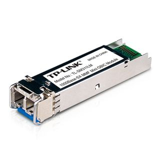 TP LINK, Gigabit SFP MiniGBIC module, Multi Mode, LC interface, Up to 550m Distance,