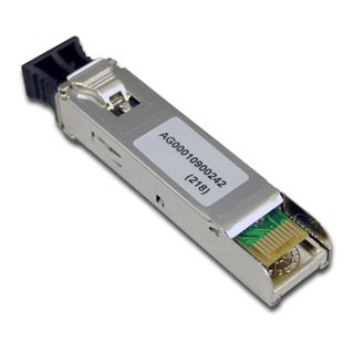 PLANET, GBIC fibre transceiver, 1000Mbps speed, LC connector, Multi-mode, Up to 550m, 850nm wavelength, 1000Base-X SFP (small form pluggable)