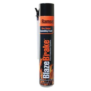 RAMSET, Blaze brake, Fire retardant expanding foam, 750ml can,