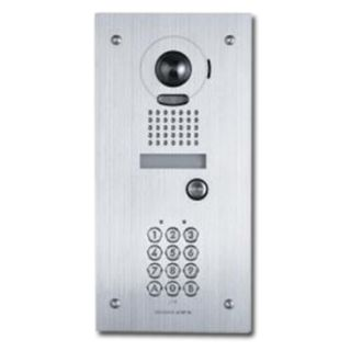 AIPHONE, Door station & key pad combination stainless steel plate, Flush mount, Vandal resistant, Includes 1 x JKDVF, 1 x AC10 keypad, Ext. 295(H)x144(W)x45(D)mm, Backbox cut out 263(H)x114(W)x45(D)mm
