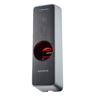SUPREMA, BioEntry W2, Weatherproof Next Gen IP Fingerprint and RFID reader, IP67, IK08, Up to 1,000,000 fingerprints, TCP/IP, Wiegand, RS485, Relay, HID Multiclass SE compatible, Poe, 12V DC,