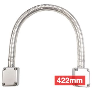 ULTRA ACCESS, Power transfer, Armoured door loop, 422mm length, Large diameter, Alloy box ends, EFCO style,