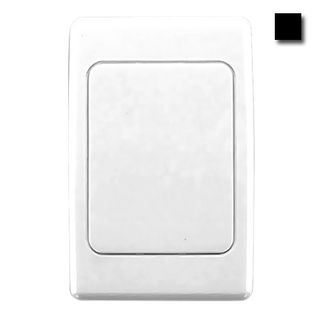 CLIPSAL, 2000 Series, Wall switch plate, Blank, Black,