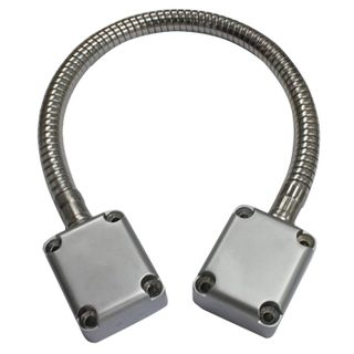 ULTRA ACCESS, Power transfer, Armoured door loop, Flexiable, 350 - 400mm length, Alloy box ends, EFCO style,