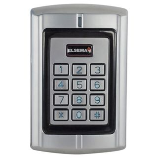 ELSEMA, Wireless Keypad with Pentacode transmitter built in, works back to PCR receiver, 2000 Users, 12-24VDC, 12-18VAC, IP67, 50m Range, 92mA