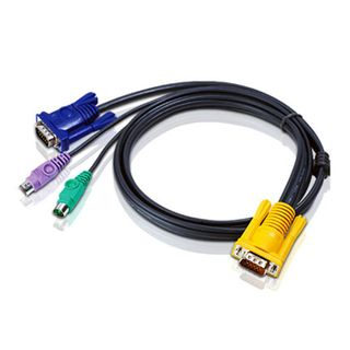 ATEN, KVM cable, PS/2, VGA, Suits CS7xE and CS13xx, 1.8m,