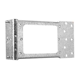CLIPSAL, Metal mounting bracket, Right angled, For stud fixings, Horizontal mounting with fixing nails, Suits Clipsal wall switch plates,