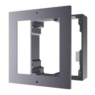HIKVISION, Intercom, Gen 2, 1 Module, Surface mount enclosure, fits 2 modules, Aluminium, with accessories, box 219x107x32.7mm,