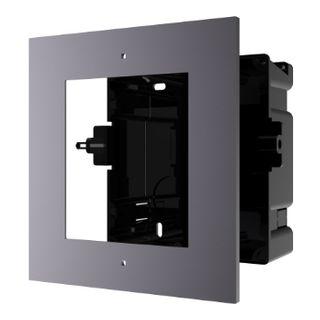 HIKVISION, Intercom, Gen 2, 1 Module, Flush mount frame, fits 1 module, Plastic backbox, with accessories, box 134×135×56 mm