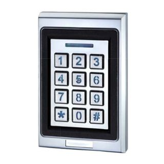 GEM, Keypad/ BLE Reader, Up to 200 users, Standalone PIN code or Bluetooth 4.2 operation, Up to 10m read range, 5A relay outputs, Metal, Backlit keys, 12-24V DC