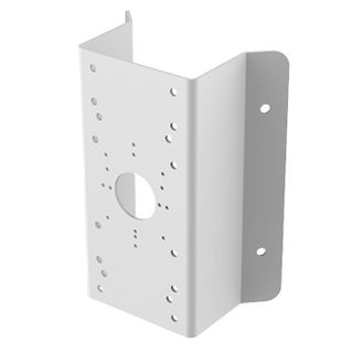 HIKVISION, Corner mount adaptor, Requires Wall Mount bracket, Suits HiWatch IPC T320/330, T120, T220/230, D120/130, D220/230, B220/230 and THC T220, T120, Provides corner mounting