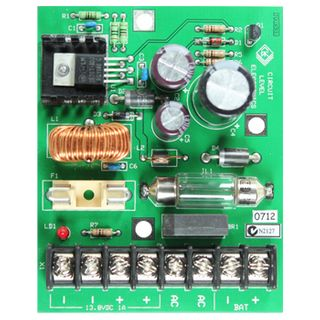 NETDIGITAL, 13.8V DC 2 Amp Power Supply module, battery charge output, Fuse protection, requires 16V AC plug pack,