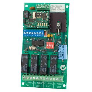 ELSEMA, Receiver, 4 Channel, 151MHz FM signal, 11-28V AC/DC,