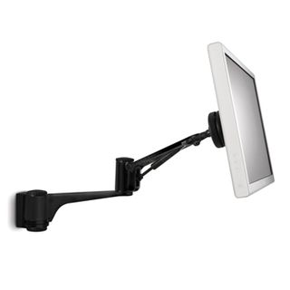 "ATDEC, Spacedec, Monitor bracket, Articulated arm, Wall mount, Black, Suits LCD from 12"" (30cm) - 24"" (61cm), 9kg holding force,"