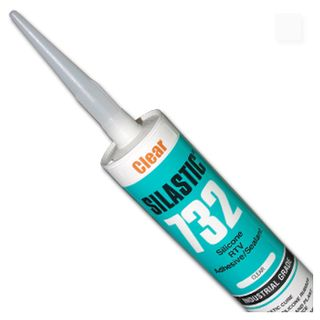 DOW CORNING, Silastic, Clear, RTV silicone adhesive sealant, Acetic cure, 310gm,