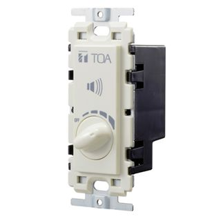 TOA 6 watt, 10 step, 100volt line Speaker volume control,
