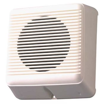 "TOA, 5"" Single Cone Box speaker, Wall mount, 6W, Plastic enclosure, 100V line (Taps at 2.5, 5,10W),"